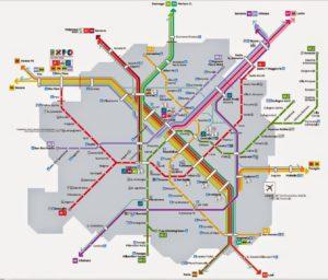 Mappa Trasporti Milano